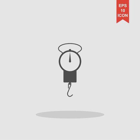 Libra: Libra icon. Vector concept illustration for design.