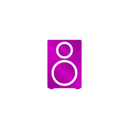 column - vector icon Flat design style eps 10 Illustration