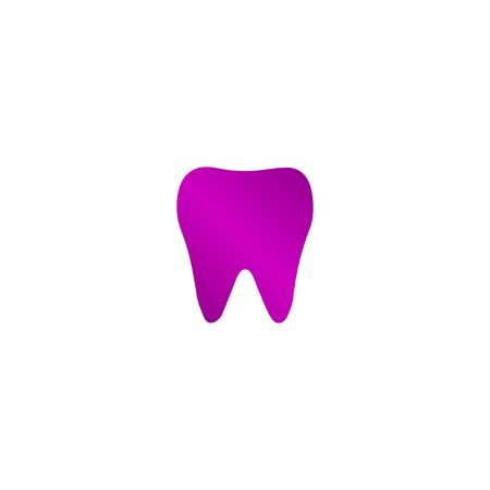 mouth screen: Tooth Icon. Flat design style eps Illustration