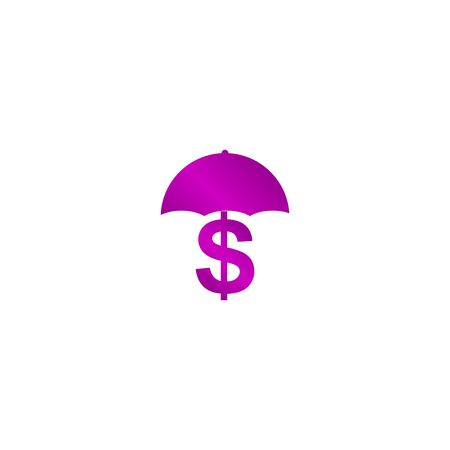 Money Protetstion icon. Concept illustration for design.