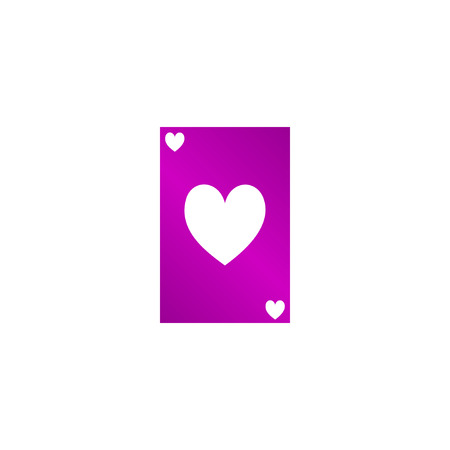 royal flush: Vector Playing Card Suit Icon Symbol Set