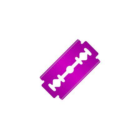Blade razor icon. Flat design style eps 10