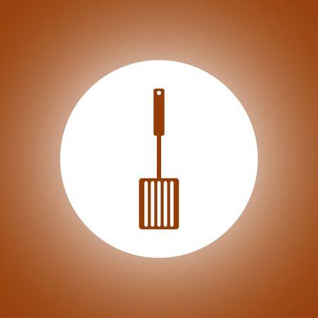 heatproof: Kitchen tool icon. Vector concept illustration for design. Illustration