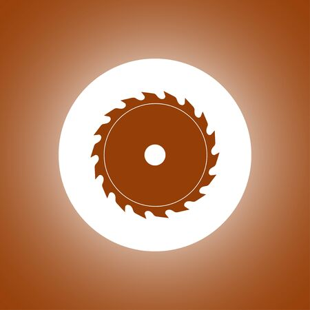 circular saw: Circular saw blade. Concept illustration for design. Illustration