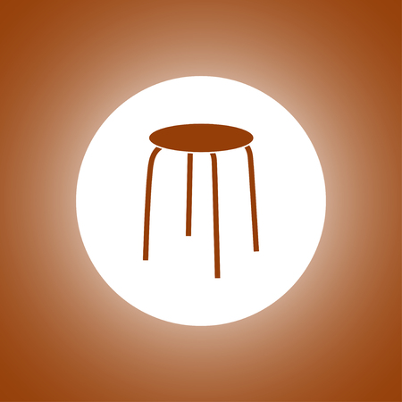 Chair Icon. Vector concept illustration for design.