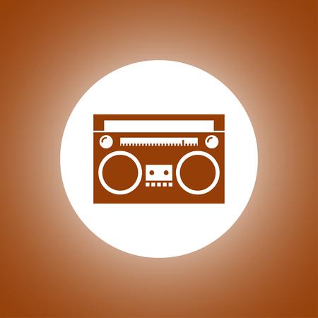 fm: radio icon. Vector concept illustration for design. Illustration