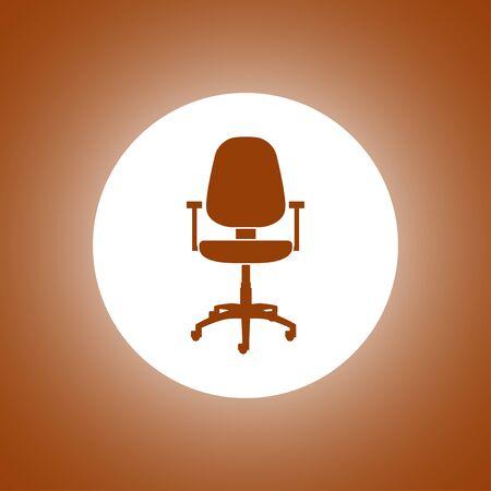 Office ichair icon, vector illustration