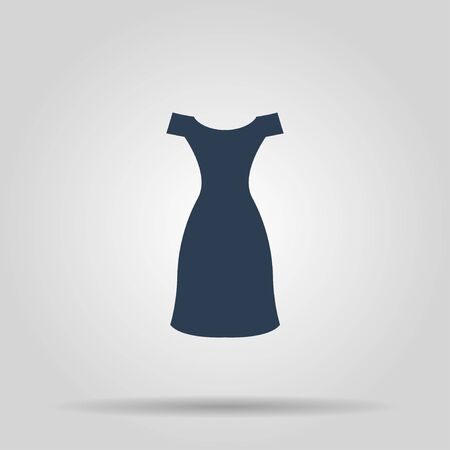 Dress vector icon. Concept illustration for design. Illustration