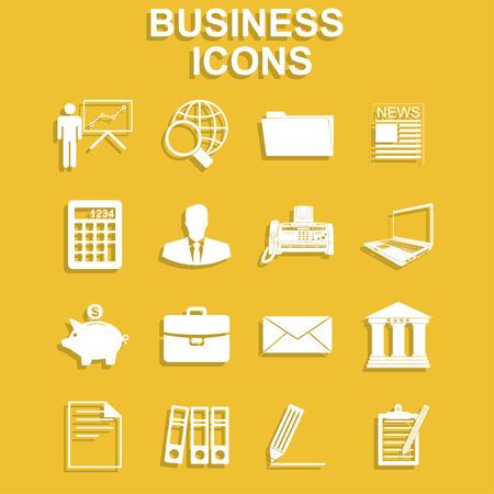 standard: Business icon set