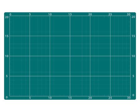 Groen snijdend rubberpatroon. Vector Illustratie