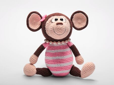 Amigurumi Monkey Crochet Pattern Free - Best Letter Cursive | 336x450