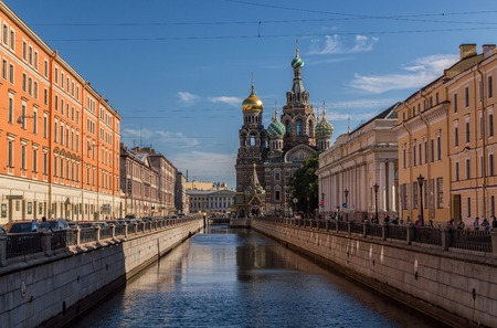 chappel: The Church of the Savior on Spilled Blood, one of the main sights of StPetersburg, Russia. This Church was built on the site where Tsar Alexander II was assassinated and was dedicated in his memory.
