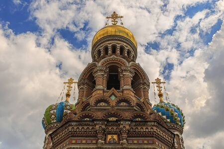 assassinated: The Church of the Savior on Spilled Blood, one of the main sights of StPetersburg, Russia. This Church was built on the site where Tsar Alexander II was assassinated and was dedicated in his memory.