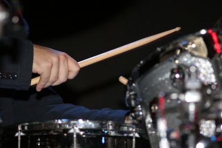 Jazz Drummer Stock Photo - 2327152