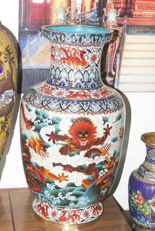 Chines porcelain Vase photo