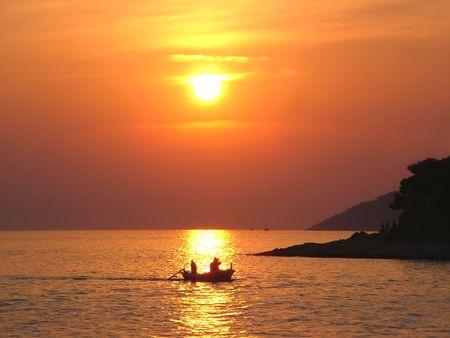 Sunset, Hvar - Croatia