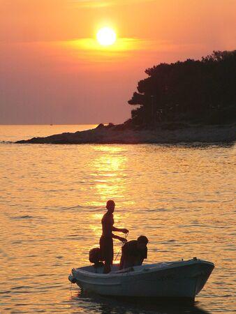 Sunset, Hvar - Croatia Stock Photo - 3145684