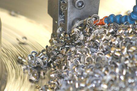 Torno de inflexión de acero inoxidable