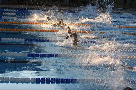 victor: Swimming