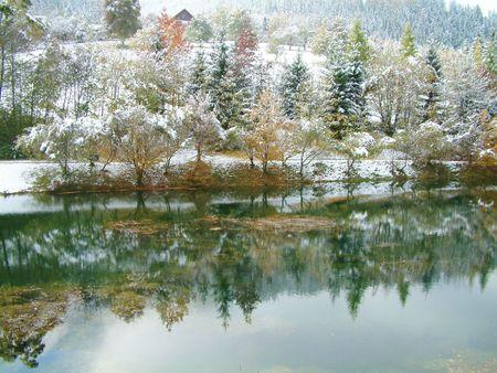 Beautiful Winter Stock Photo - 3930726