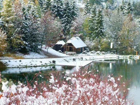 Beautiful Winter Stock Photo - 3930738