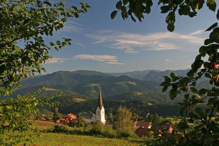 Landscape from Slovenia Stock Photo - 5406879