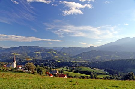 Landscape from Slovenia Stock Photo - 5406872