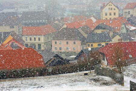 Snowfall Stock Photo - 9181388
