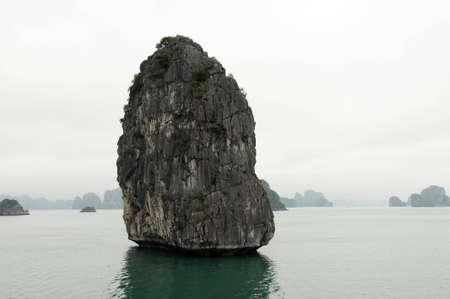 ha: Ha Long Bay limestone rock