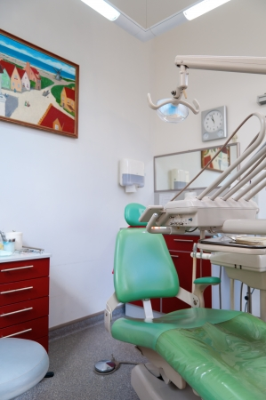 Dentist office with main equipment for dentistry Stock Photo - 12820680