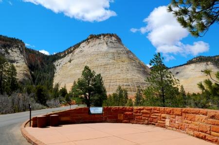 Checkerboard Mesa - Zion Canyon National Park, Utah photo