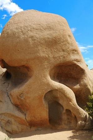 Skull Rock, Joshua Tree National Park, US photo