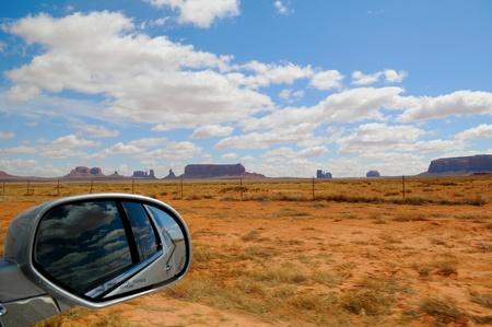 View of Monument Valley Park  Arizona, US photo