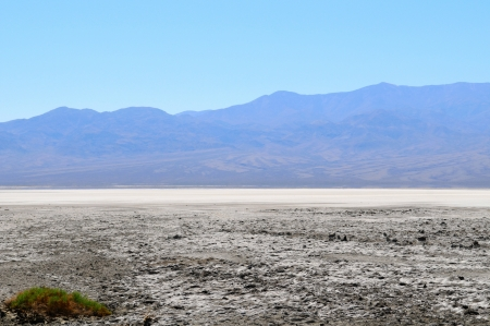 View of the Salt Lake in Death Valley National Park, California, US photo