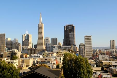San Francisco Downtown Skyline view photo