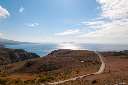 south coast: South coast of Crete island near Preveli monastery, Greece