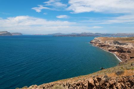santorini island: Beautiful view of Santorini Island, Greece