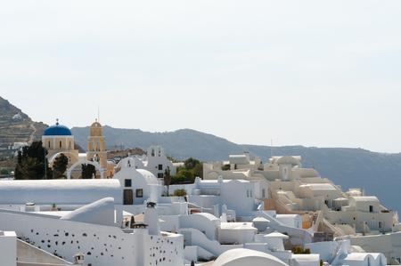 oia: Beautiful view of Oia, Santorini Island, Greece