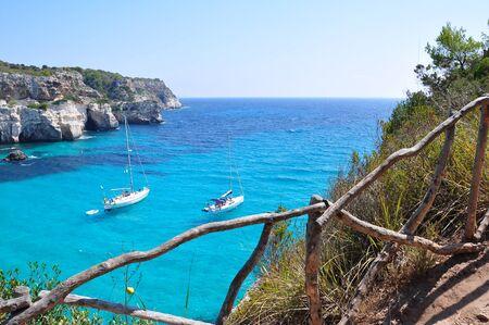 Beautiful beach in Menorca, Spain Stock Photo - 16483846