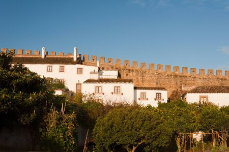 Beautiful  lanscape in Obidos, Portugal photo