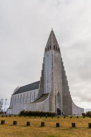 reykjavik: Catedral Hallgrimskirkja en Reykjavik, Islandia