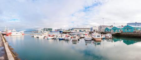 reykjavik: Reykjavik puerto, Islandia