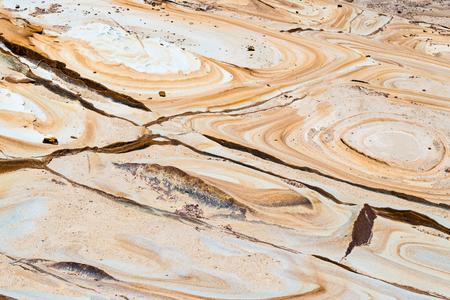 devonian: Australian rock formation background, sandstone texture with iron traces in australia, devonian stones