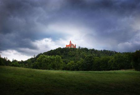 teutonic: Bouzov castello dei cavalieri dell'Ordine Teutonico