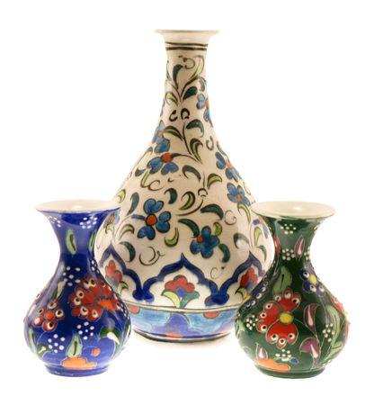 Three Turkish vase photo
