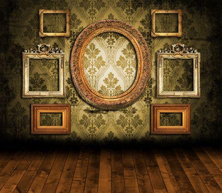 Alte Styled Interior  Standard-Bild - 6619521
