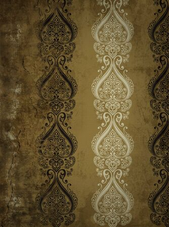baroque room: Vintage wall
