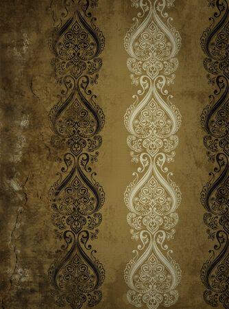 baroque room: Vintage wall