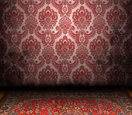 Old Styled Interior and a Persian carpet