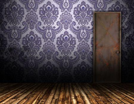 old interior door Stock Photo - 7379313